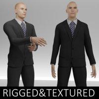 3D man suit