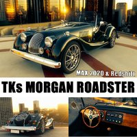 3D morgan roadster