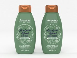 3D aveeno fresh greens shampoo
