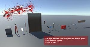 horror props 3D model