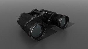 3D model binocular kriegsmarine war