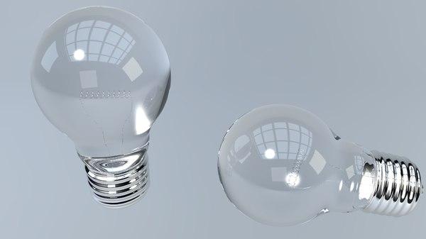 light bulb model