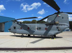 3D uae air force chinook