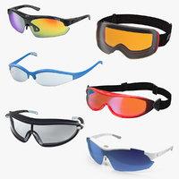 3D sport glasses 4