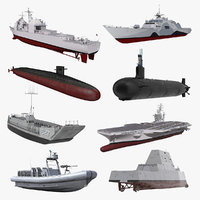 warships 3 stealth ship model