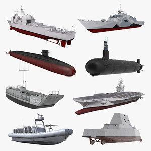 warships 3 stealth ship model