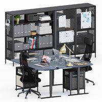 Ikea Bekant workplace