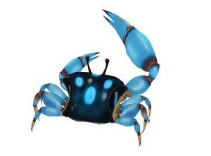 crab vr ar 3D model