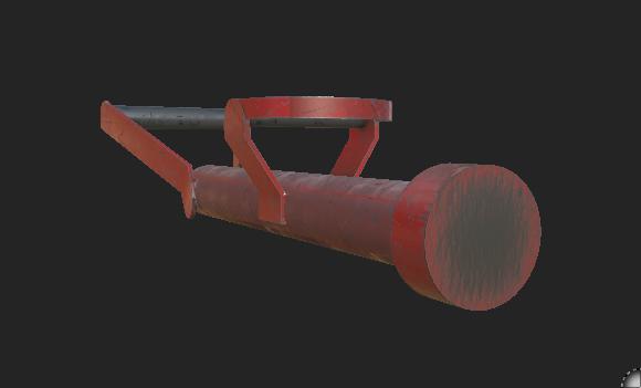3D enforcer big red