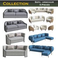 chair armchair sofa model