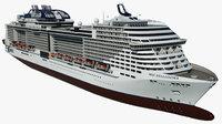Cruise Ship MSC Bellissima
