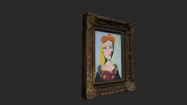 picasso women 3D model