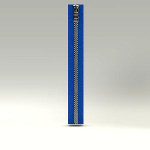 zipper fastener 3D model