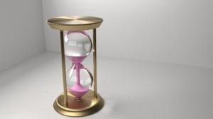 metal hourglass 2 model