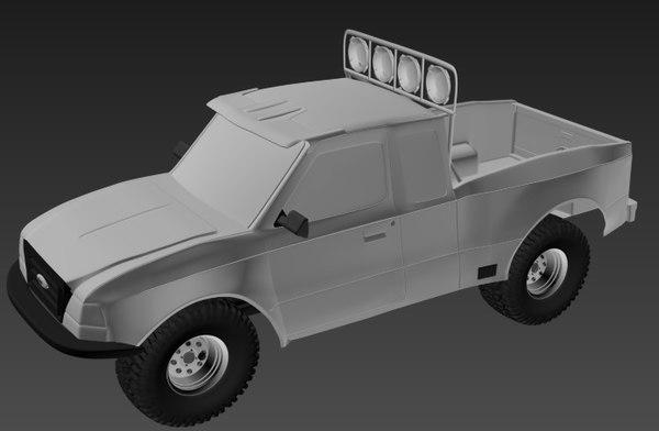 2008 truck 3D model