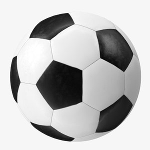 sports football soccer ball 3D