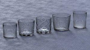 3D cut glasses