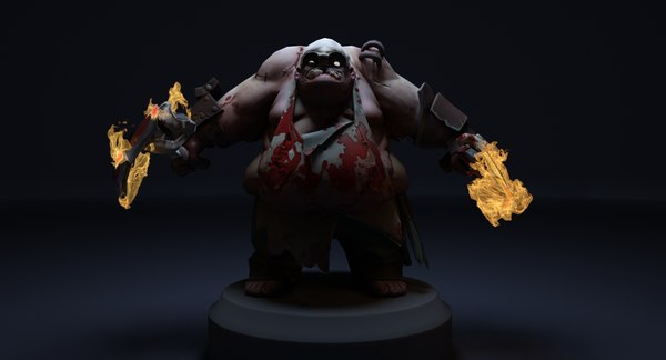 set pudge pbr 3D