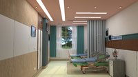room hospital 3D