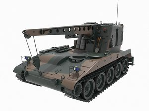 m578 light recovery vehicle 3D model