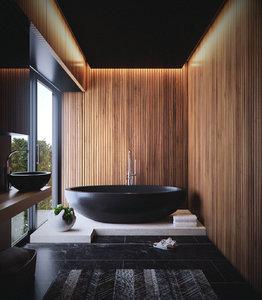 3D bathroom render corona