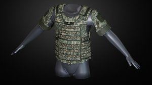 iotv vest 3D model