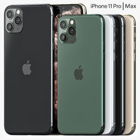 3D model iphone 11 pro