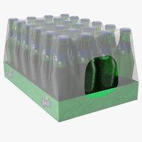 3D 24 sprite bottle package
