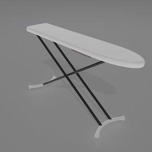3D ironing board model