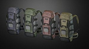 backpack games 3D model