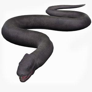 basilisk monster snake model