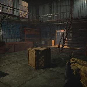 fps rpg games pbr 3D