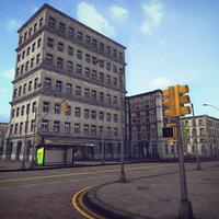 RPG/FPS Game Assets for PC/Mobile (Urban Set v1)(1)
