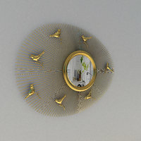 3D mirror birds model