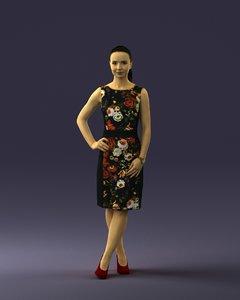 3d scan woman