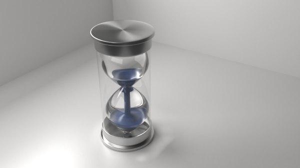 hourglass 5 3D model