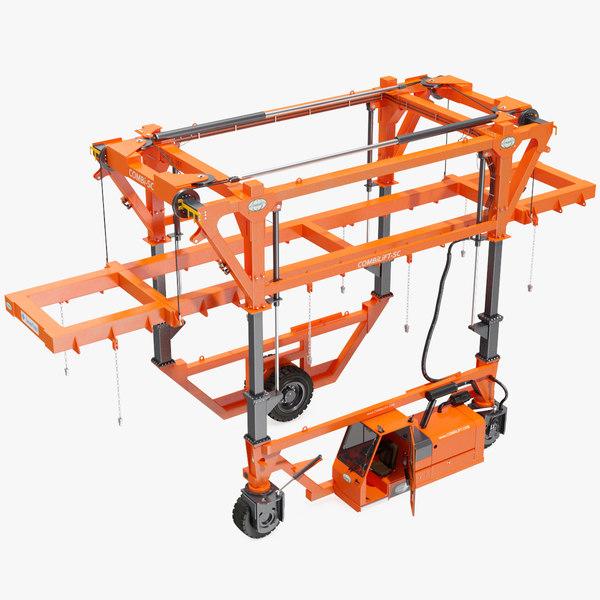 combilift sc straddle carrier 3D model