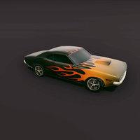 muscle car 3D
