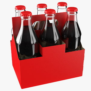 3D soda bottle package
