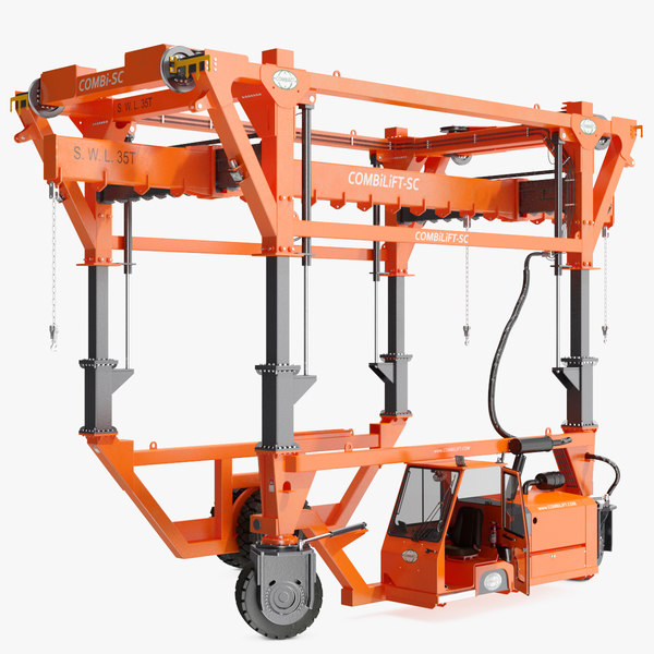 3D combi-sc range straddle carrier