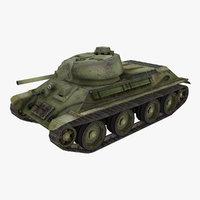 tank a-20 3D model