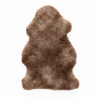 3D wool soft plush faux model