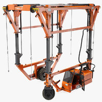3D combi-sc straddle carrier dirty