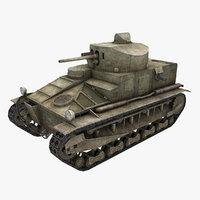 tank vickers medium mark model