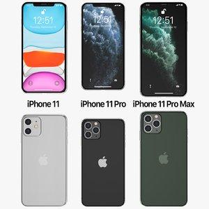 3D iphone 11 pro
