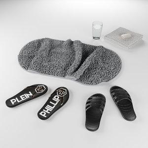 set bath 3D model