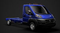 3D ram promaster cargo chassis model