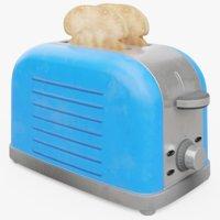Toaster (With Toast)