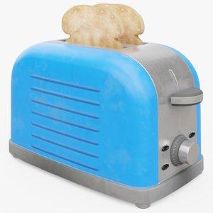 toaster toast 3D