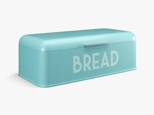 3D model home basics bread box